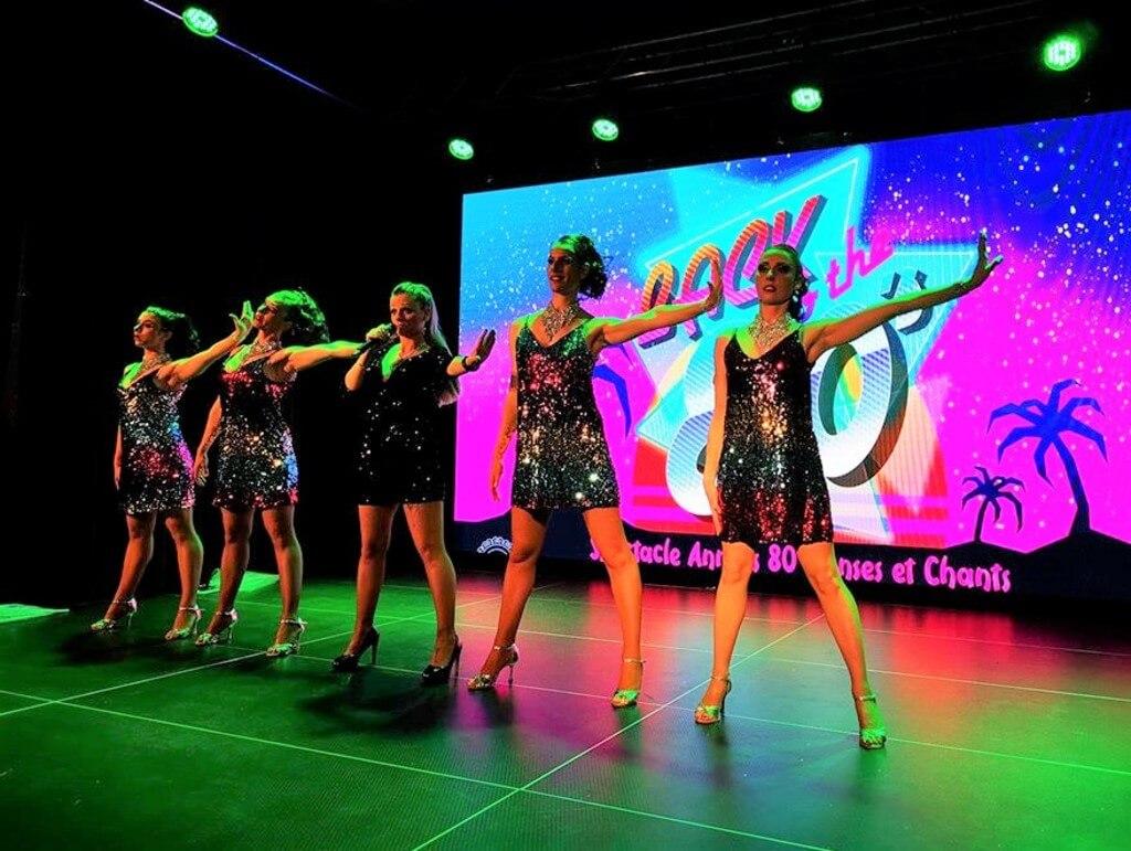 Spectacle Cabaret Région Rhône Alpes Années 80